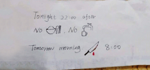 The Hilarious Interpretations Of A Note Left By A Nurse Who Couldn't Speak English Will Leave You Speechless