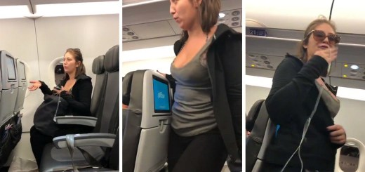 Jetblue Female Passenger Gets Booted Off Plane for Violent and Unruly Behavior
