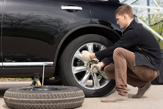 Learn changing a tire