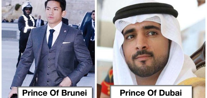 15 Of The Most Handsome And Beautiful Princes And Princesses From All Over The World