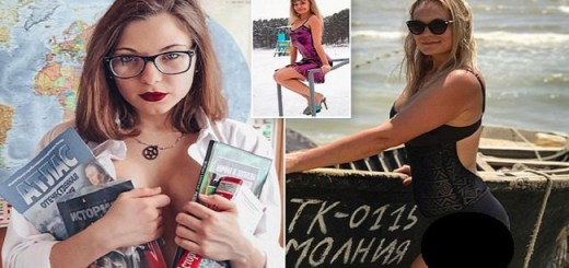 Russian Teacher Forced To Quit Over Controversial Photos Posted On Social Media