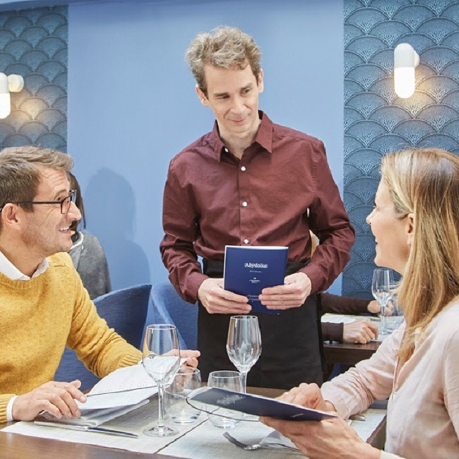 How we treat a waiter reveals a lot about our character