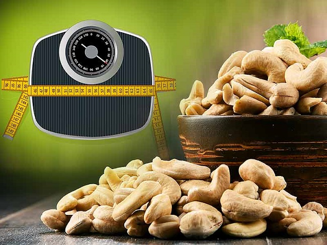 Regular consumption of cashew can help you lose weight faster