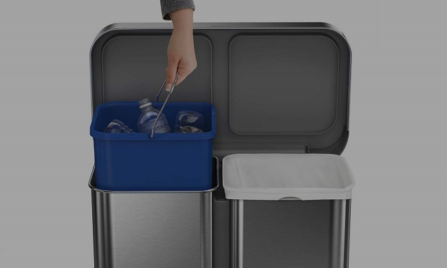 Don't forget your recycling bin