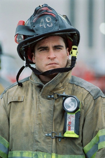 He worked as a firefighter for a whole month to practice for a role.