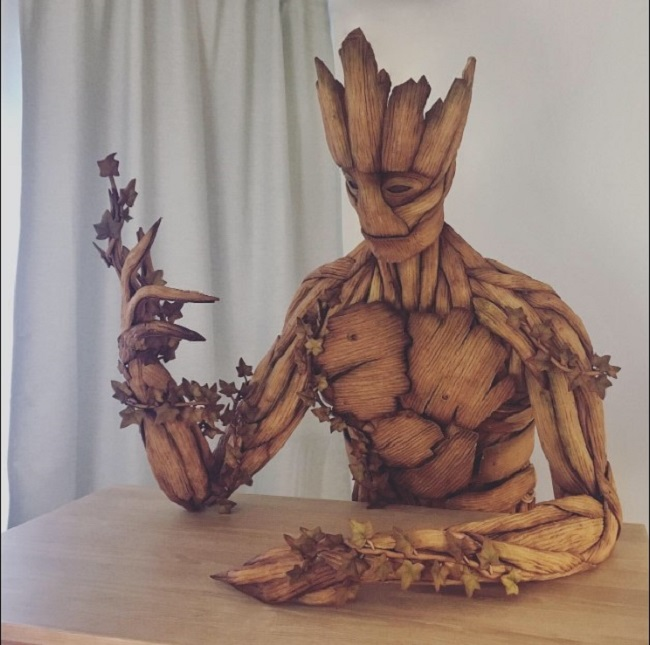 She also made Groot