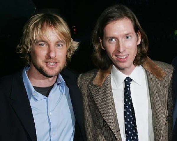 Owen Wilson and Wes Anderson