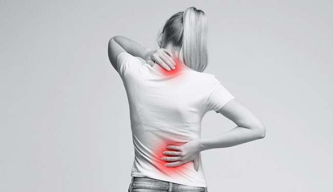 Aching muscles and back pain