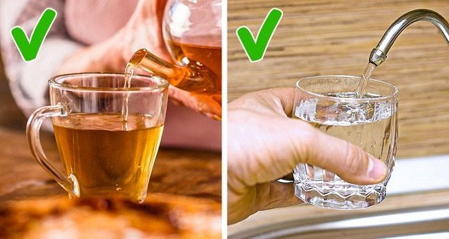 Before a cholesterol test don't drink alcohol