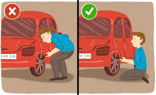 Changing the wheel of your car