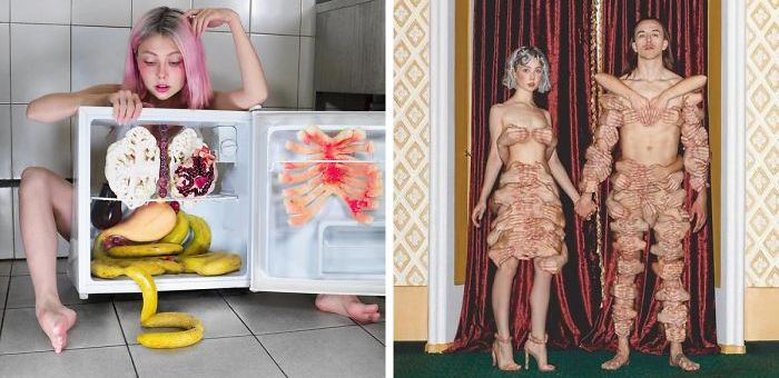 Russian Artist Creates Bizarre and Thought-Provoking Photographs That Will Amaze You