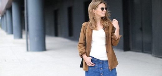6 Stylish Ways to Wear a Denim Skirt