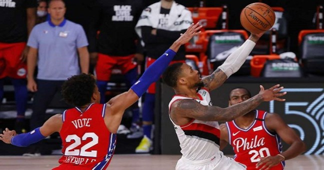 This is How Damian Lillard Shows Grace Under Pressure