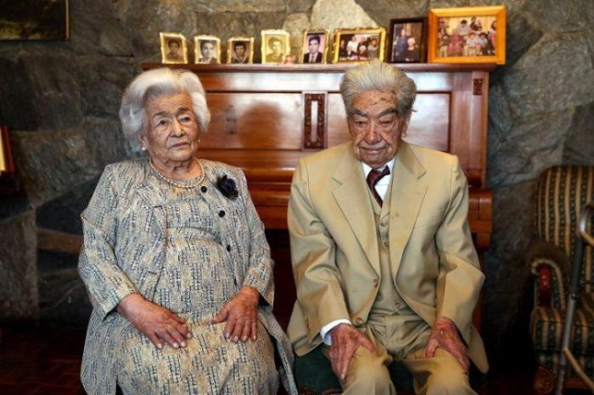Oldest Married Couple In The World Today