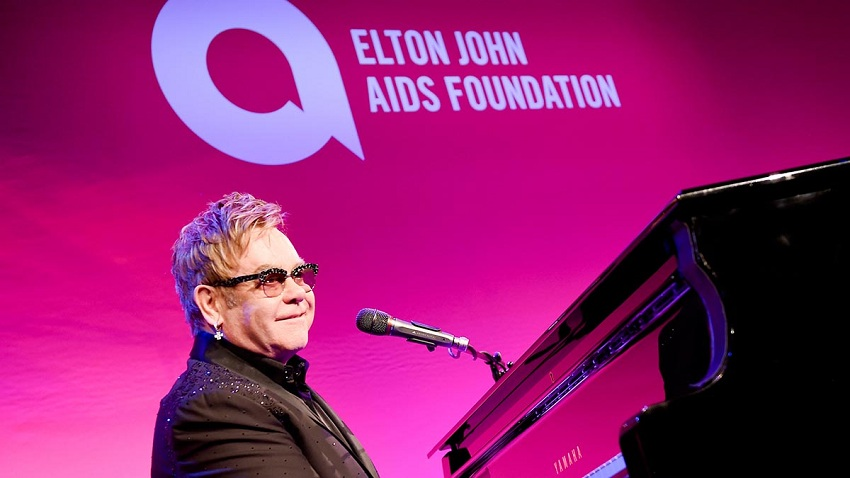Elton John is serving populations affected by HIV/AIDS epidemics for over 2 decades