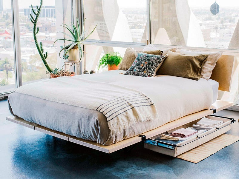 Lift your bed to gain extra space