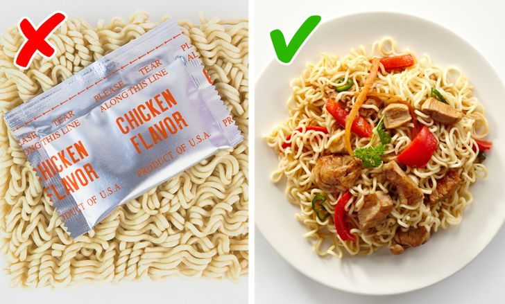 To increase the nutritional value of instant noodles do this