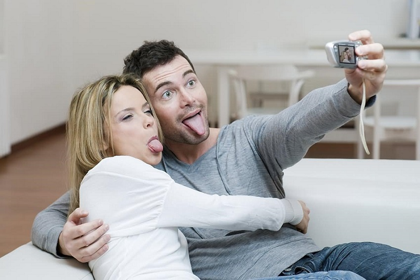 Try to be friendly with your spouse