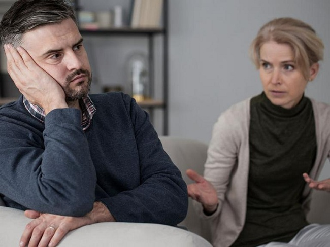 Your partner refuses to argue