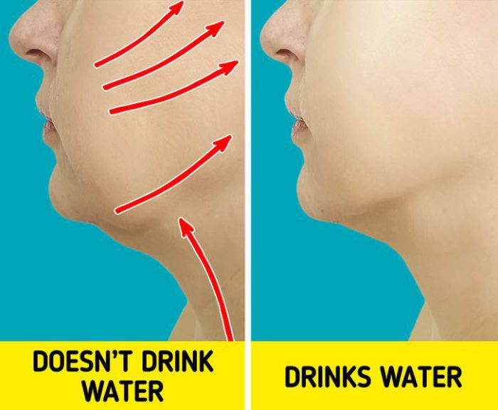 Drink enough water to keep hydrated