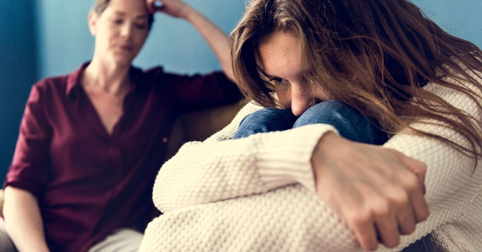 Isolate yourself from toxic parents