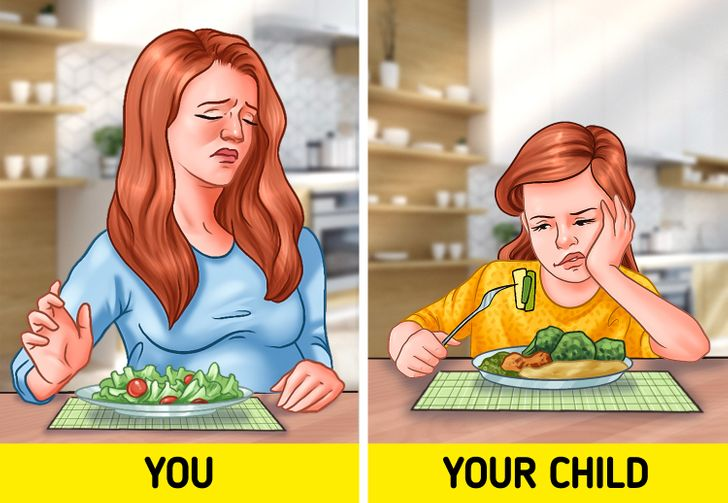 Don't be a picky eater