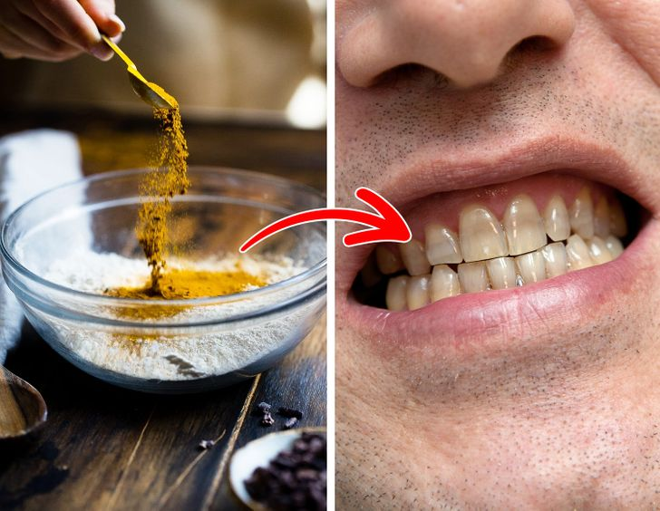 Your foods contain highly pigmented spices