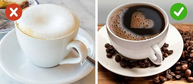 Select the right type of coffee