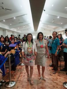 Honorable Directress of SPARK Academy of Global City, DR. ELISA G. CHUA