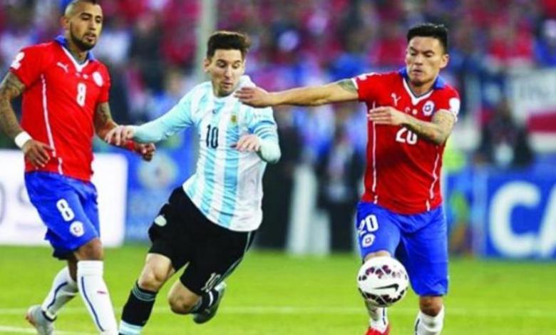 مشاهدة بث مباشر مباراة الأرجنتين ضد تشيلي الان ..بطولة كوبا أمريكا 2021