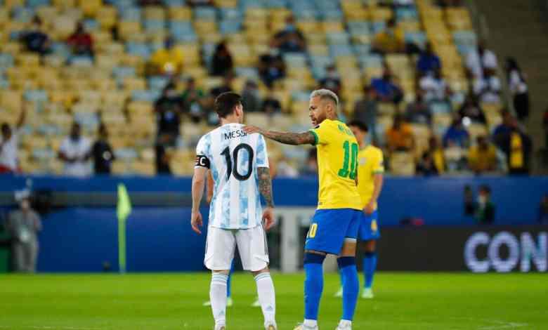 فيديو نيمار يبكي في أحضان ميسي يتصدر ترند بعد فوز الأرجنتين على البرازيل