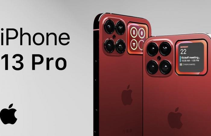 هاتف ايفون الجديد iPhone 13 بحجم كبير وأسعار منافسة والوان جديدة ( فيديو )