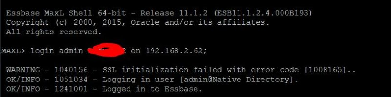 Installing stand-alone Essbase client on Linux/Unix