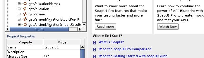 Testing DRM Webservice API using SoapUI