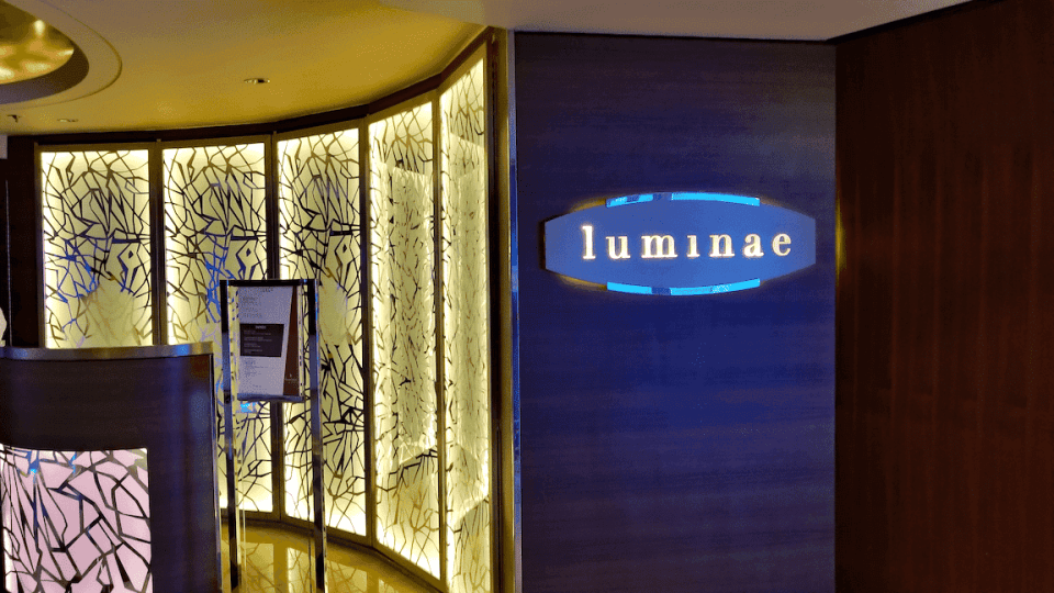 The Luminae Restaurant is exclusive to Suites Guests onboard the Celebrity Summit