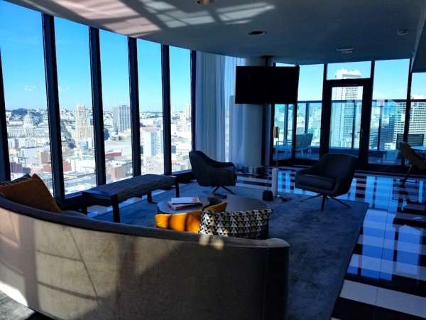 Lower hotel rates at hotels like the InterContinental San Francisco is one reason to visit San Francisco this winter