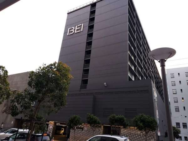 Exterior view of the front of BEI Hotel San Francisco