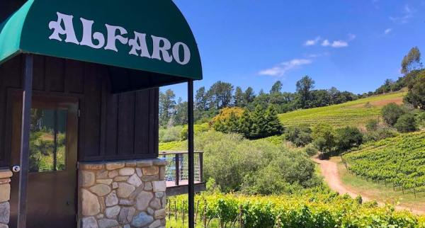 Alfaro Family Vineyard and Winery in Corralitos