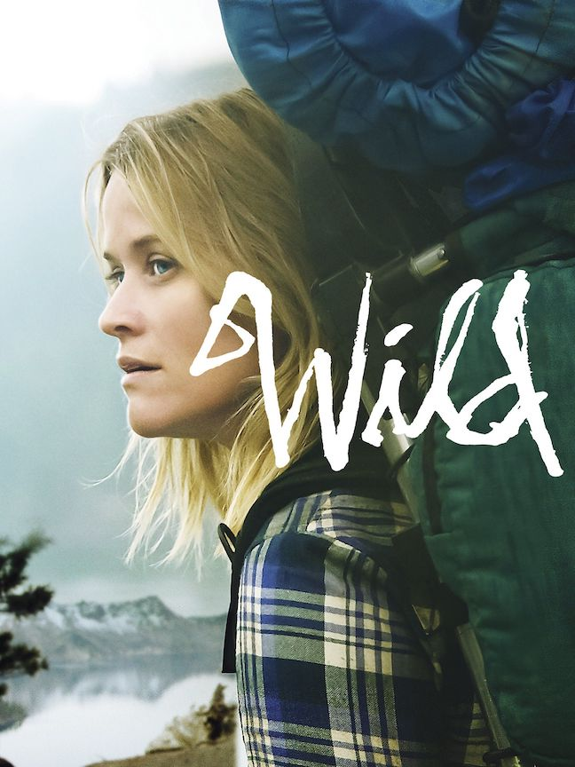 Official movie poster of Wild starring Reese Witherspoon and her travel across the Pacific Crest Trail