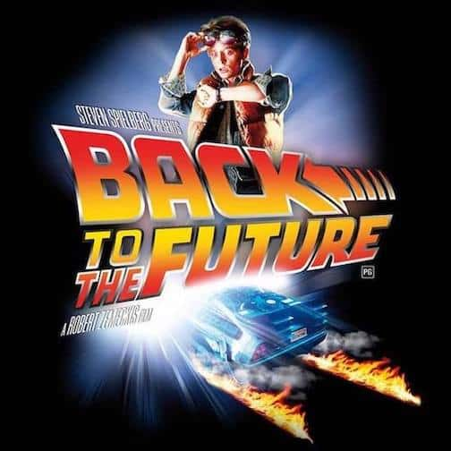 Official Movie Poster for Back Steven Spielberg's Back to the Future