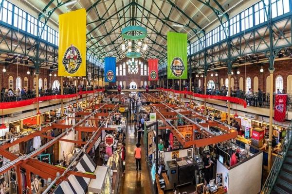 Historic City Market in downtown Indianapolis