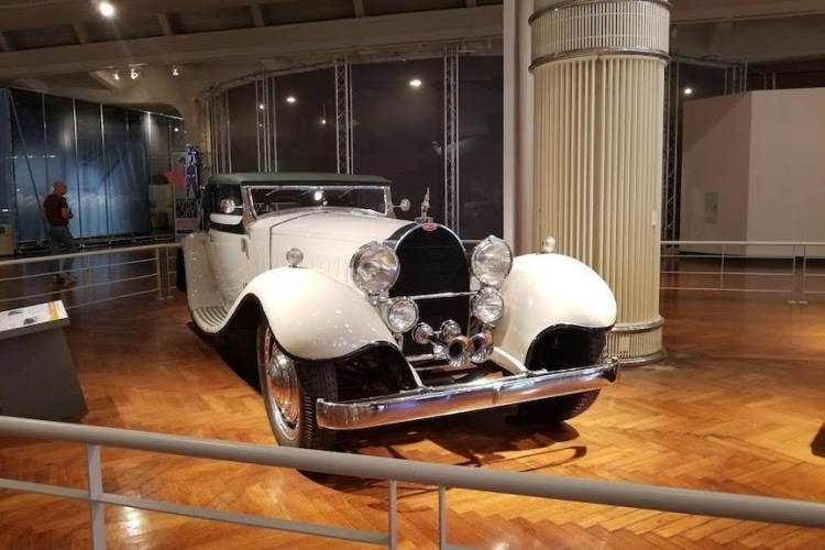 1931 Bugatti Type 41 Convertible at the Henry Ford Museum