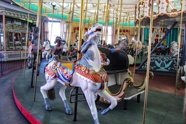 Looff Carousel at the Santa Cruz Boardwalk