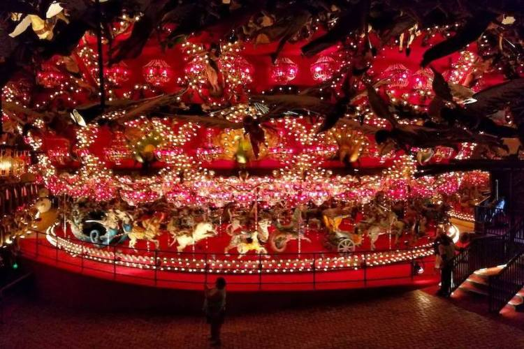 House on the Rock merry go round in Wisconsin