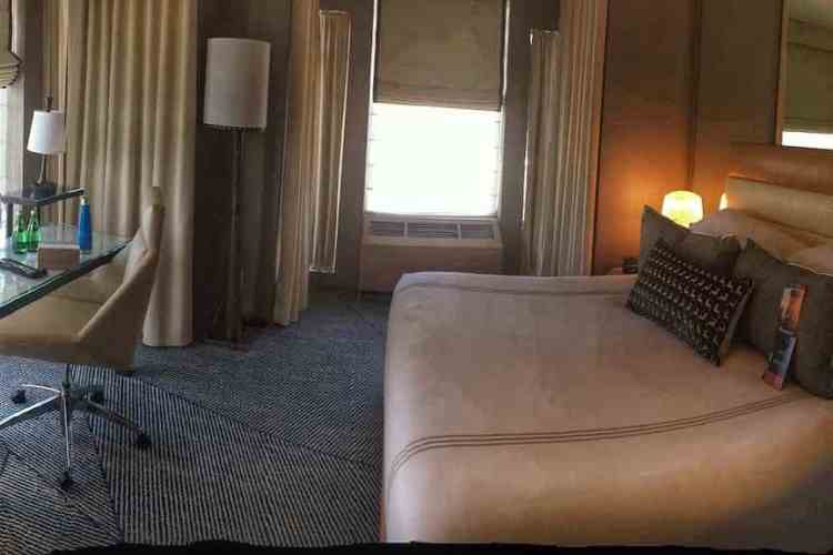 Signature king suite with separate living room at Hotel Zoe in the Fisherman's Wharf neighborhood