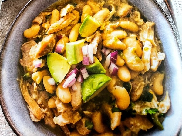 slow cooker white chicken chili recipe from America's Test Kitchen (ATK)