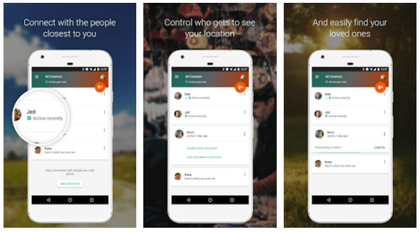 "Google Gets Safety Conscious with New "" Trusted Contacts "" App"