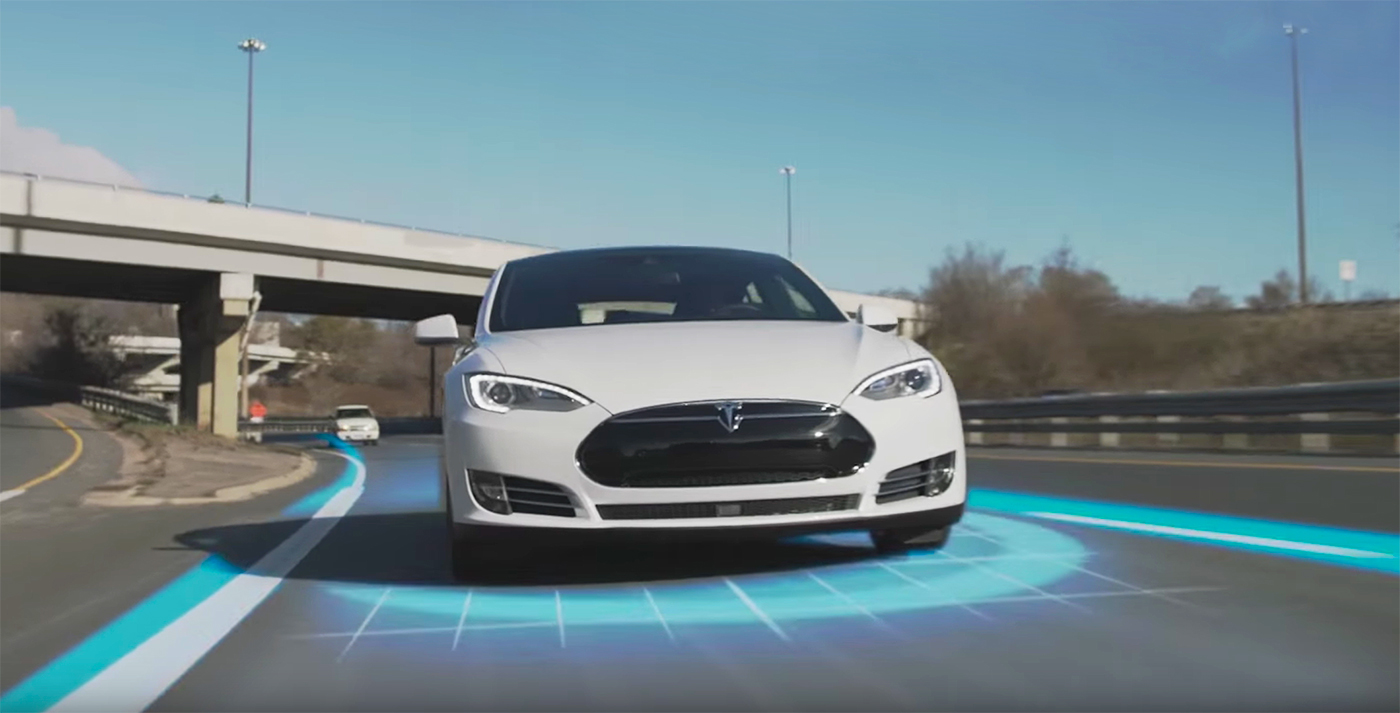 Tesla's New Upgraded Autopilot Uses 2 Out of 8 Cameras