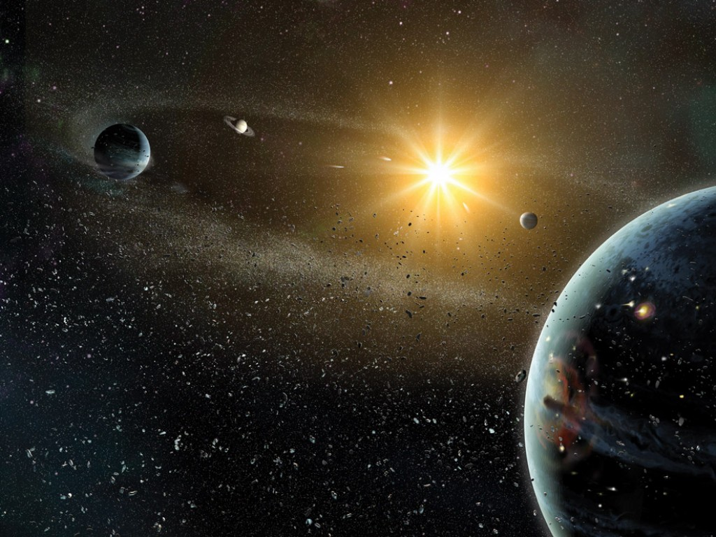 Astronomers Discover Nearby Solar System