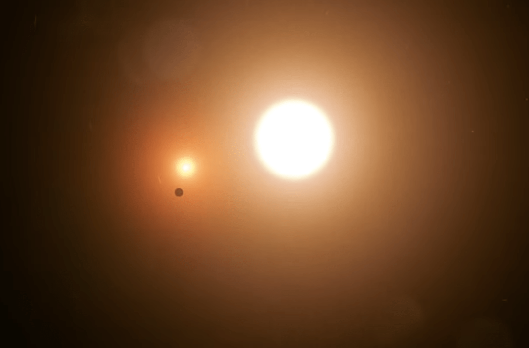 NASA Researchers Reveal a New Two-Star Planetary System